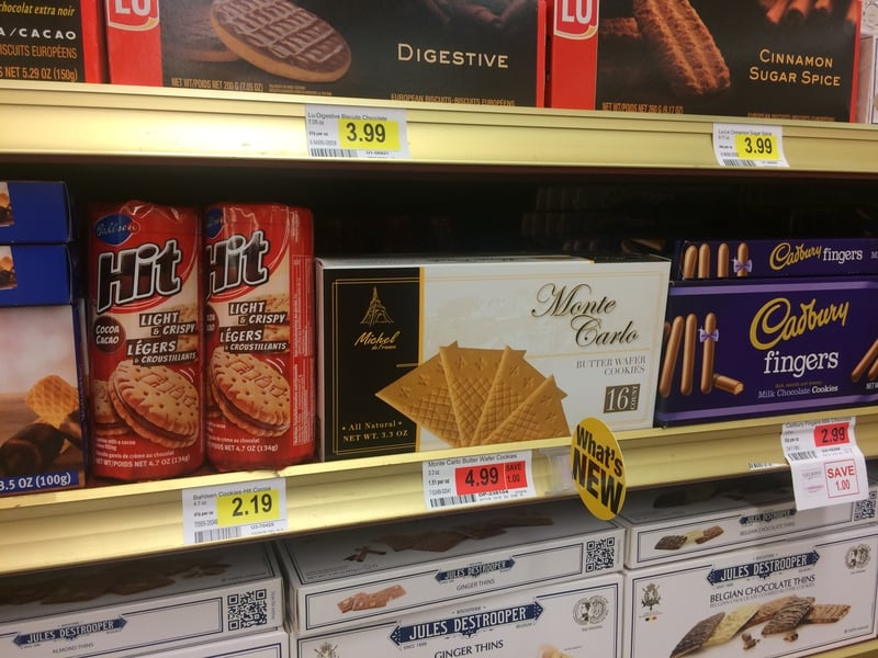 Monte Carlo Fan Wafers at Gelsons